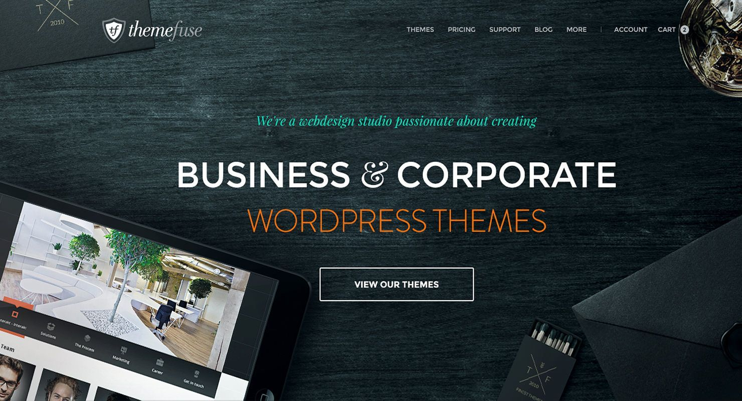 temas wordpress themefuse