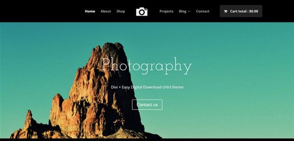 child theme para divi