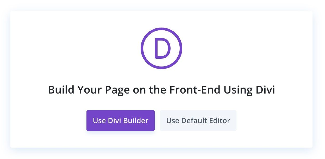 divi builder wordpress