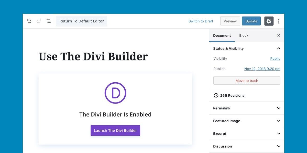 actualización divi wordpress