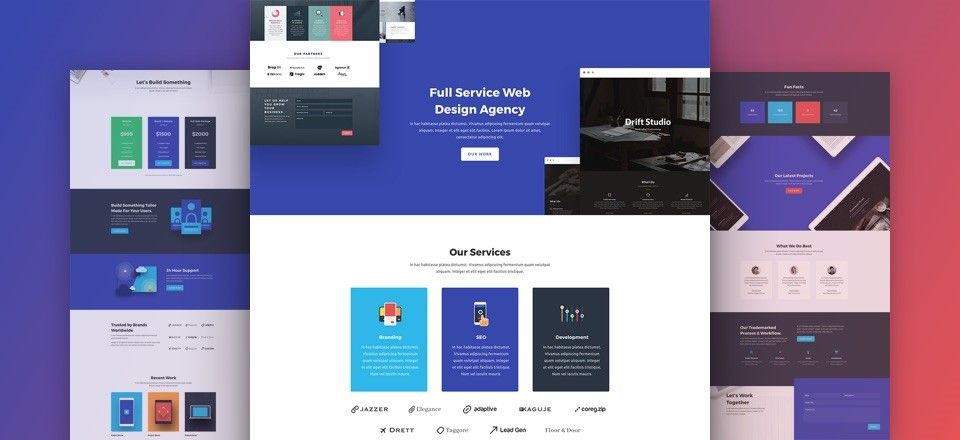 divi layouts